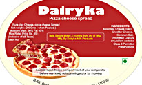 Packaging design for Dairyka cheese manufacturer
